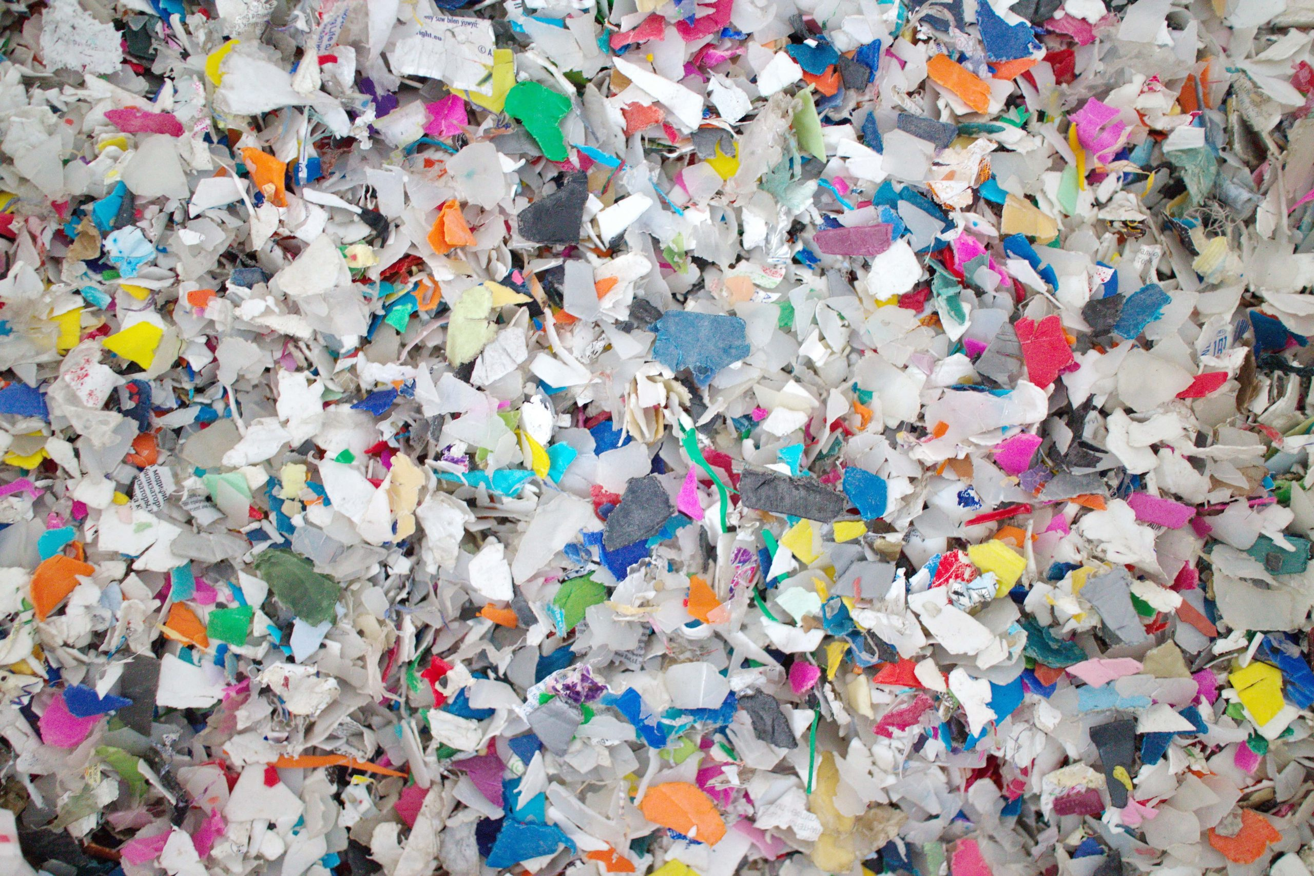 Plastiques broyés
