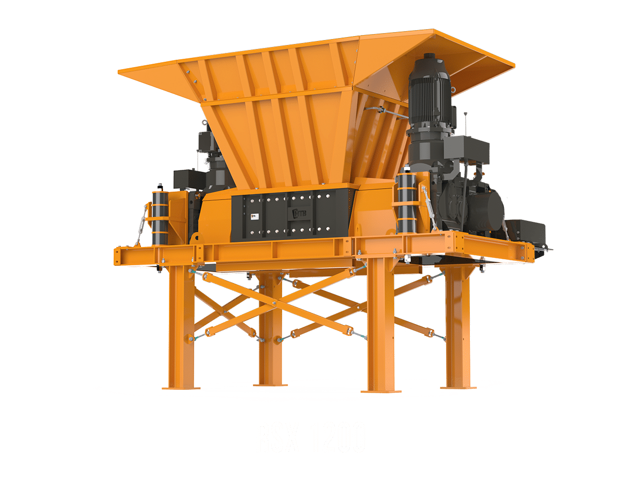 cisaille rotative