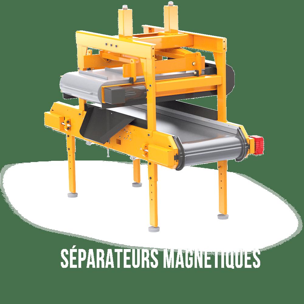 séparateurs magnétiques